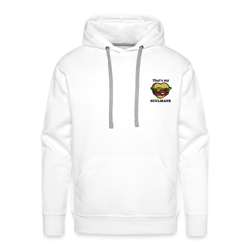 Love Food - Sweat-shirt à capuche Premium pour hommes