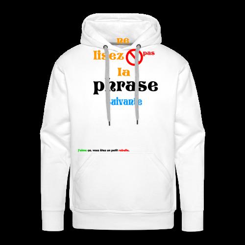 cool_swag - Sweat-shirt à capuche Premium pour hommes