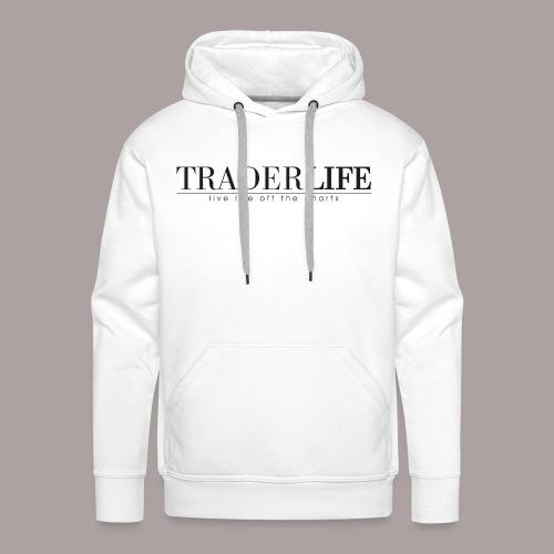 TraderLife Logo Black - Men's Premium Hoodie