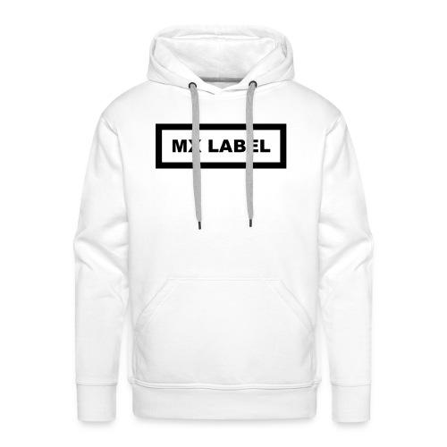 MX LABEL - Felpa con cappuccio premium da uomo