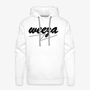 Black_on_White_weeza - Männer Premium Hoodie