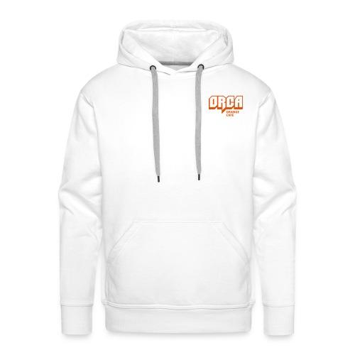 Hoodie mit ORCA-Logo orange - Männer Premium Hoodie