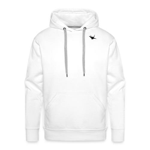 Crane bird - Mannen Premium hoodie