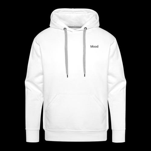 White Mood Hoodie - Herre Premium hættetrøje