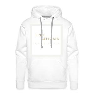 '#End the stigma' of mental health - Men's Premium Hoodie