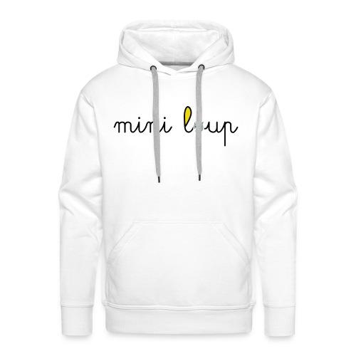 miniLoupamo - Sweat-shirt à capuche Premium pour hommes