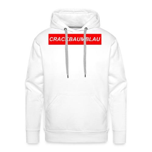 CrackBaumBlau (LOGO) - Männer Premium Hoodie
