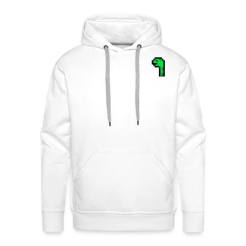 Pixel Logo - Männer Premium Hoodie