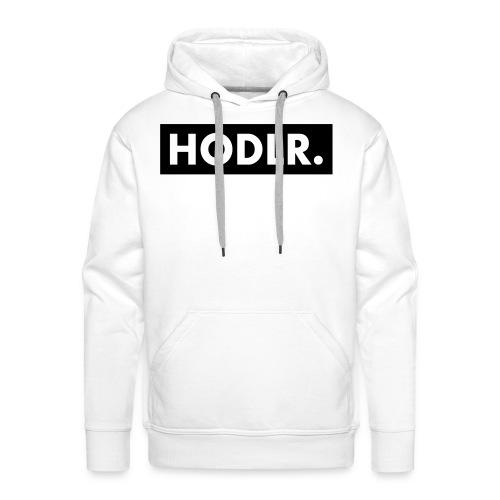 HODLR. - Mannen Premium hoodie