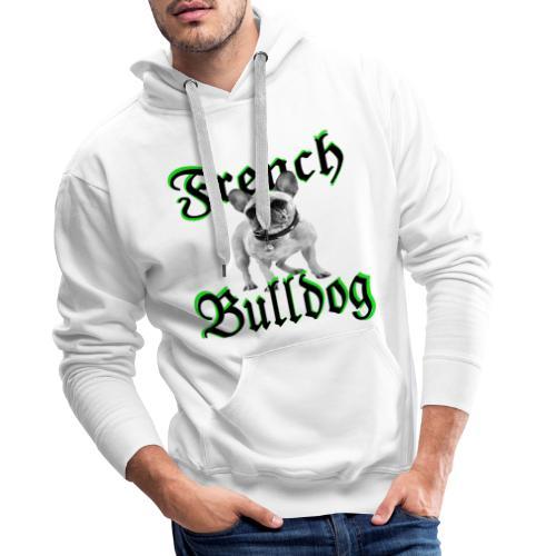 Bulldog Bulldogge Hundekopf Hundeliebhaber Hunde - Männer Premium Hoodie