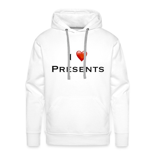 I Love Presents - Men's Premium Hoodie
