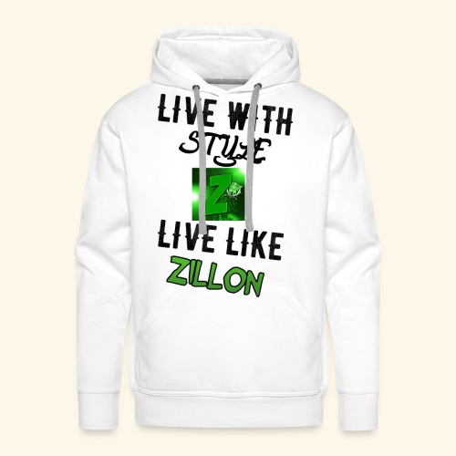 LWS LlZ - Sudadera con capucha premium para hombre