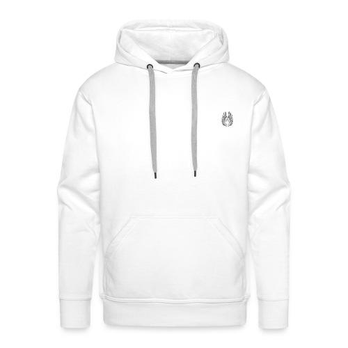aile dange ouvert - Sweat-shirt à capuche Premium pour hommes