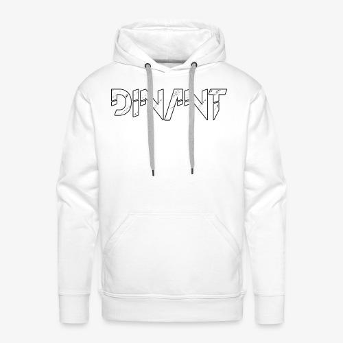 Dinant logo wit - Mannen Premium hoodie