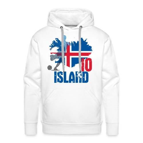 Island Tee 10 - Männer Premium Hoodie
