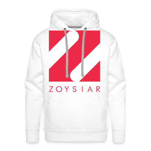 Zoysiar - Logo Collection | White - Männer Premium Hoodie