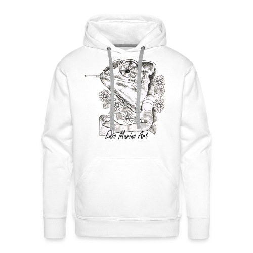 Came la clope - Sweat-shirt à capuche Premium pour hommes