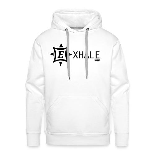 Exhale 10K White - Men's Premium Hoodie