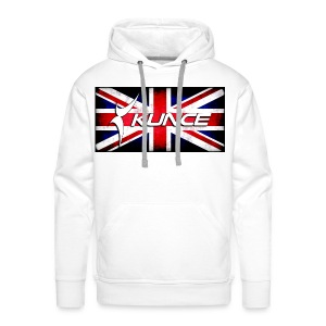 Kunce UK Union Jack Grunge - Men's Premium Hoodie