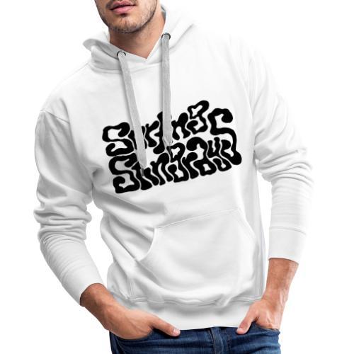 Surfing Stingrays logo - Mannen Premium hoodie