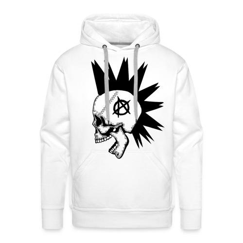 anarquia - Sudadera con capucha premium para hombre