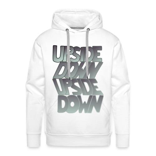upside down, down upside? - Männer Premium Hoodie