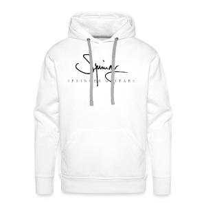 Logo Springer Guitars - Sweat-shirt à capuche Premium pour hommes