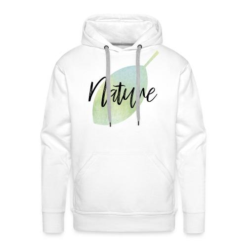 Nature - Sudadera con capucha premium para hombre