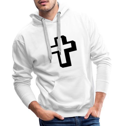 Criz cristiana - Sudadera con capucha premium para hombre