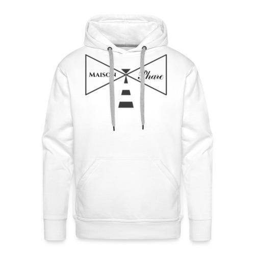 Maison Phare - Sweat-shirt à capuche Premium pour hommes