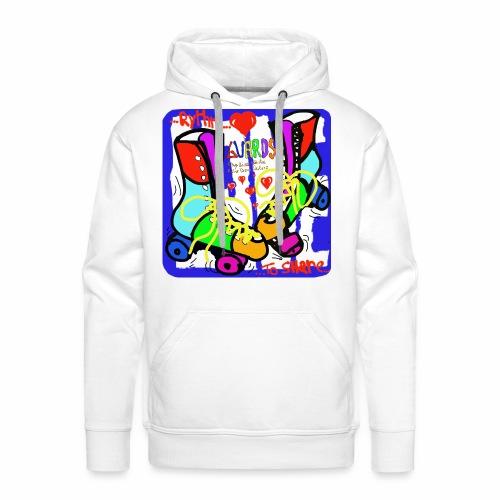 Guards_Rythm&LovetoShare - Sweat-shirt à capuche Premium pour hommes