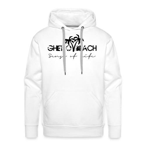 Ghetto Beach Logo - Männer Premium Hoodie