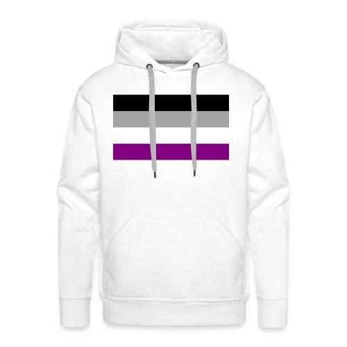 Asexual pride - Männer Premium Hoodie