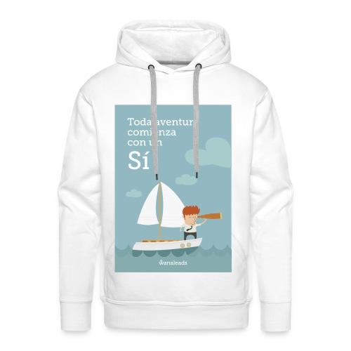 "Camiseta ""Toda Aventura"" de Wanaleads - Sudadera con capucha premium para hombre"