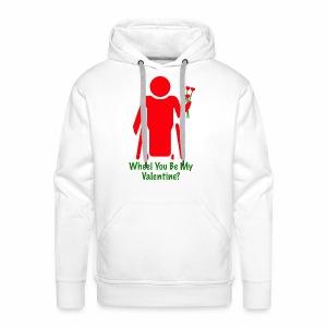 VALENTINE1 - Mannen Premium hoodie