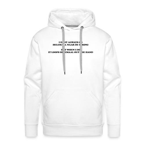 naar de tering - Mannen Premium hoodie