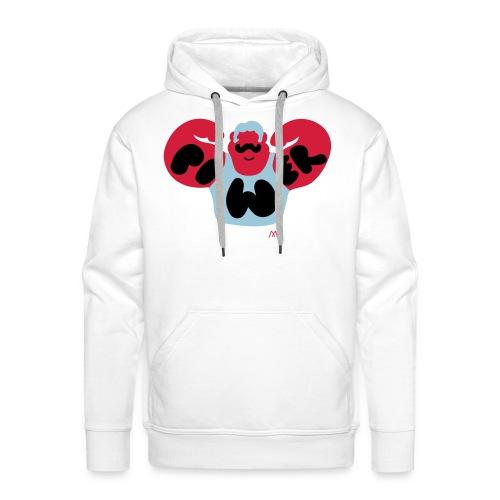power - Sweat-shirt à capuche Premium pour hommes