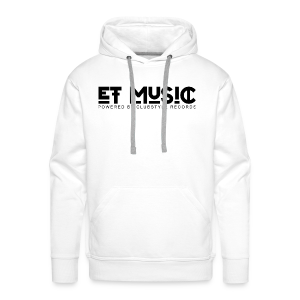 E.T. Music Logo (Powered by ClubStyle Records) - Mannen Premium hoodie