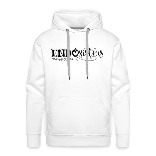 EndoSisters Logo - Premiumluvtröja herr