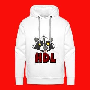 HeadLights Logo Shirt - Mannen Premium hoodie