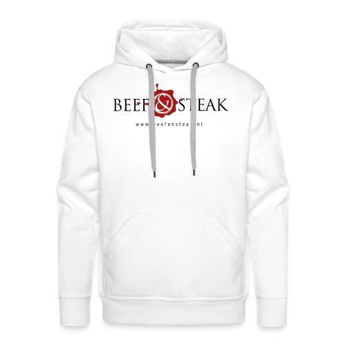 Beef&Steak Style - Mannen Premium hoodie