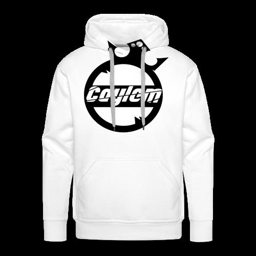 Caylem Logo Schwarz - Männer Premium Hoodie