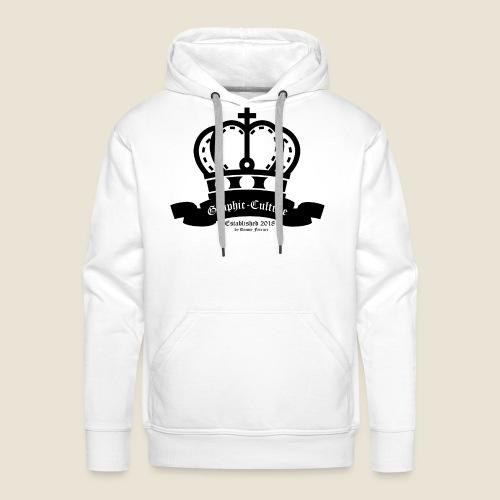 Graphic-Culture Krone - Männer Premium Hoodie