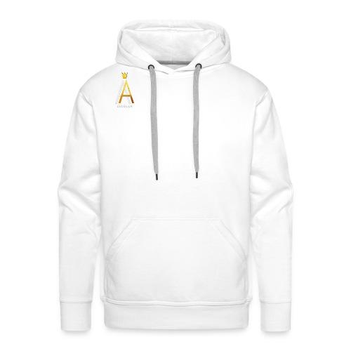 Simple White - Männer Premium Hoodie