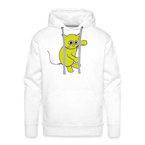 Hugo Puddlebucket Meow the cat - Men's Premium Hoodie