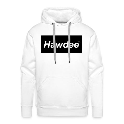 hawdee_logo_original - Men's Premium Hoodie