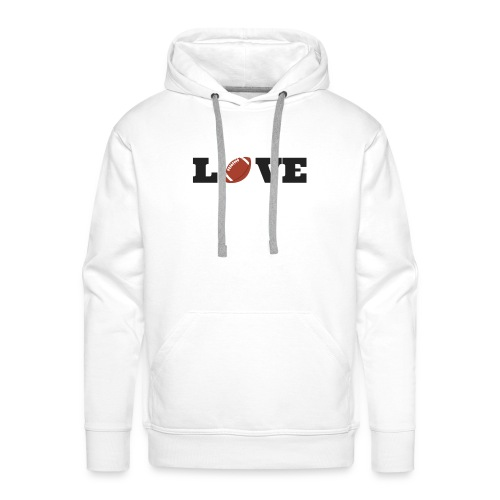 Love foot us - Sweat-shirt à capuche Premium pour hommes