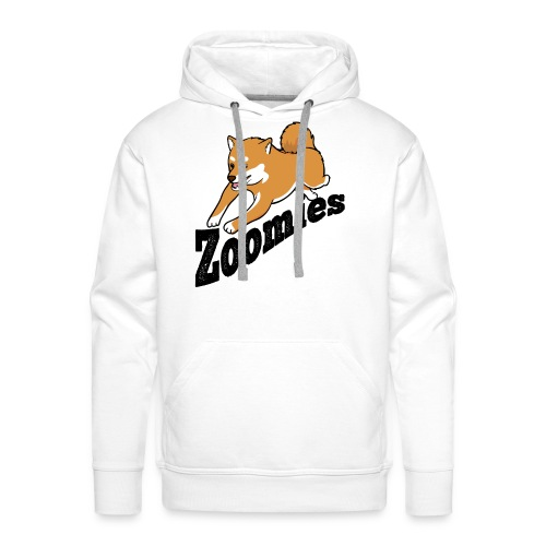 Zoomies Red Shiba - Men's Premium Hoodie