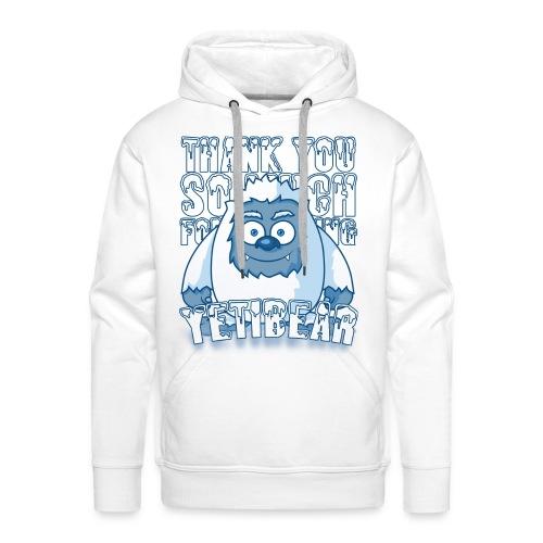 Yeti Design - Mannen Premium hoodie