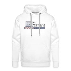 i m a programmer in the make - Mannen Premium hoodie